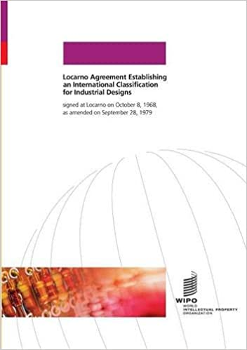 Locarno Agreement Wipo 9789280504231 Amazon Books