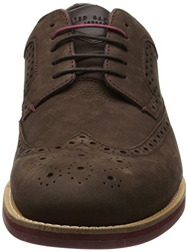 Ted Baker Fanngo, Scarpe Stringate Brouge Uomo Marrone (Brown)