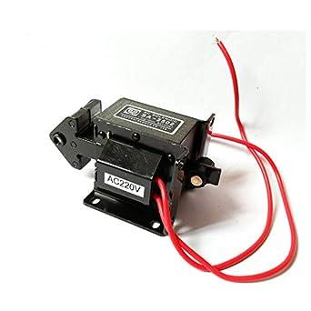 SA-2502 Lift 1.5kg AC Tractive Solenoid Electromagnet