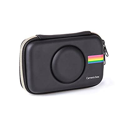 Polaroid Snap Case, Hard Cover Travel Case for Polaroid Snap/Polaroid Snap Touch Instant Print Digital Camera (Case- Black Color) by olodot