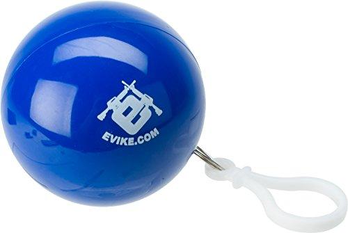 Evike Rain Poncho-To-Go Ball Key Chain - Blue