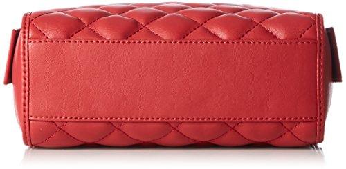 Love Moschino Borsa Nappa Pu Trapuntata Rosso - Borse a spalla Donna, Rot (Red), 15x20x7 cm (L x H D)