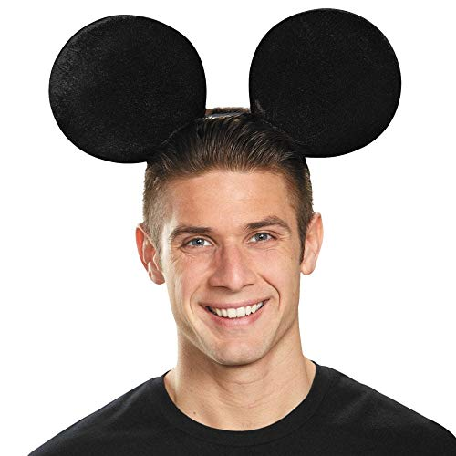 Disguise Mickey Mouse Adult Ears Oversz -
