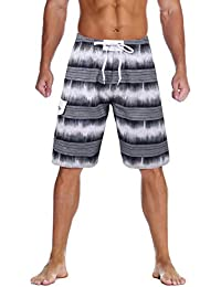 e90d2936fee79 Men s Beachwear Summer Holiday Swim Trunks Quick Dry Striped