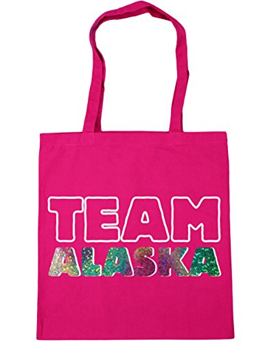 Fuchsia Bag litres Gym Shopping alaska 42cm Team Tote 10 x38cm Beach HippoWarehouse xqP1YfvHwW