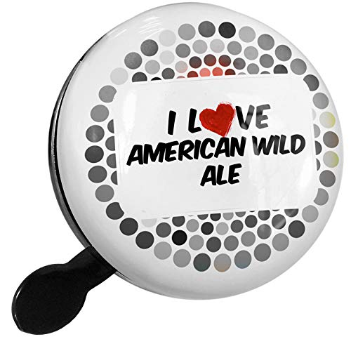 Wild Ale - NEONBLOND Bike Bell I Love American Wild Ale Beer Scooter or Bicycle Horn