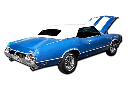 Oldsmobile 1972 GM 442 W29 Paint Stencil Decals Stripes Kit W25 Air Induction Hood ()