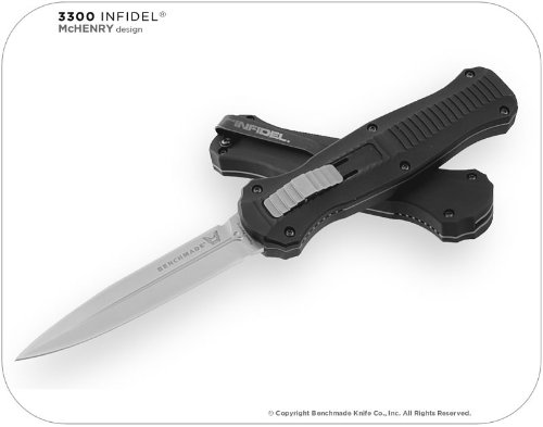 Benchmade 3300 Infidel OTF Knife, Outdoor Stuffs