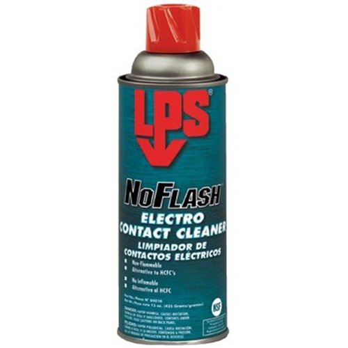 Cleaner Contact Electro Lps (LPS Labs 04016 12 oz NOFLASH Electro Contact Cleaner)