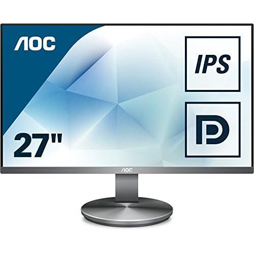 chollos oferta descuentos barato AOC Monitores I2790VQ BT Pantalla para PC de 27 resolución 1920 x 1080 Pixels tecnología FlickerFree y Lo