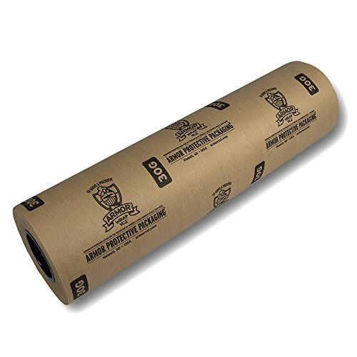 Armor Protective Packaging A30G36200 VCI Paper Prevents Rust, Corrosion On Ferrous and Non-Ferrous Metal, 36