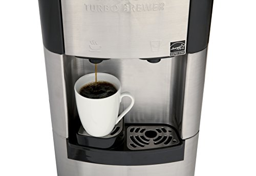 Keurig Coffee Maker Hot Water Dispenser : Viva Coffee Maker & Water Cooler, K-Cup Compatible, a True Stainless Steel Water Dispenser with ...