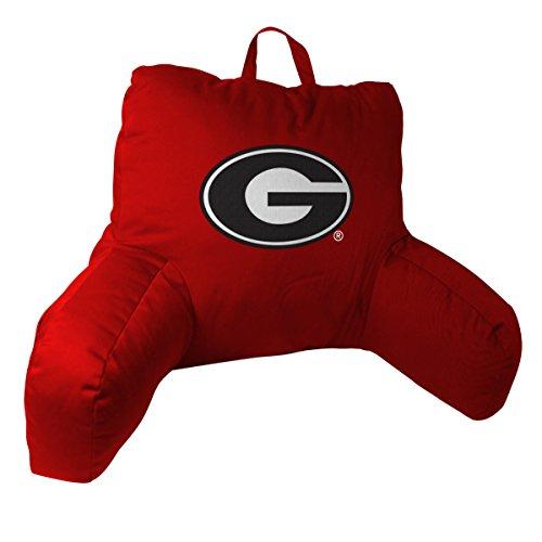 Georgia Bedrest Pillow - Georgia OFFICIAL Collegiate, 20.5 x 21 Bed Rest Pillow