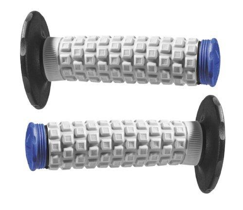Black Grey Blue Pro Taper Handlebar Hand Grips and Free Sticker Fits Yamaha Yz80 Yz85 Yz125 Yz250 Yz465 Yz490 Yz250f Yz450 Yz400 Yz426 Wr250 Wr450 Ttr125 Ttr230 Ttr90 Ttr110 Pw80 Rt100 Rt180 1981-2014 (Yamaha Yz85 Parts)