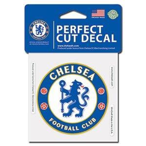 WinCraft Soccer Chelsea FC Perfect Cut Color Decal, 4