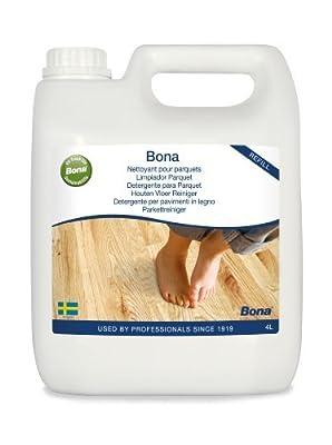 Bona Parquet Hardwood Floor Cleaning Liquid Refill 4L Code; WM740119012 by Bona