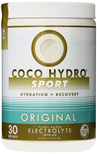 Big Tree Farms Coco Hydro Instant Coconut Water Electrolyte Sports Drink Mix, Vegan, Gluten Free, Original Flavor, 30 Servings, 16.9 Ounce