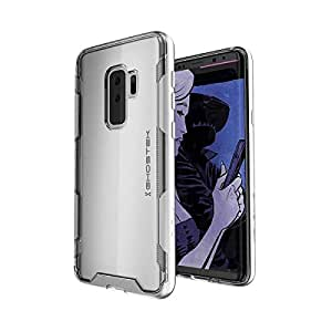 Samsung Galaxy S9 Plus Ghostek Cloak 3 Series Clear Protective Case Cover - Silver