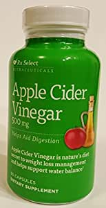 Amazon.com: Rx Select - Apple Cider Vinegar (500 mg) 90