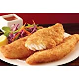 Trident Seafoods 2 Ounce Panko Breaded Tilapia Fillets, 10 Pound -- 1 each.