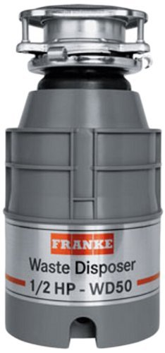 Franke WD50 1/2 HP Continuous Feed Waste Disposer with 2600 RPM Magnet Motor