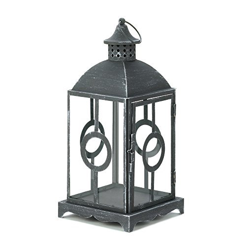 Koehlerhomedecor Holiday Home Decor Outdoor Hanging Loop Circlet Candle Lantern