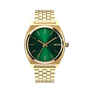 NIXON Time Teller -Spring 2017- Gold/Green Sunray