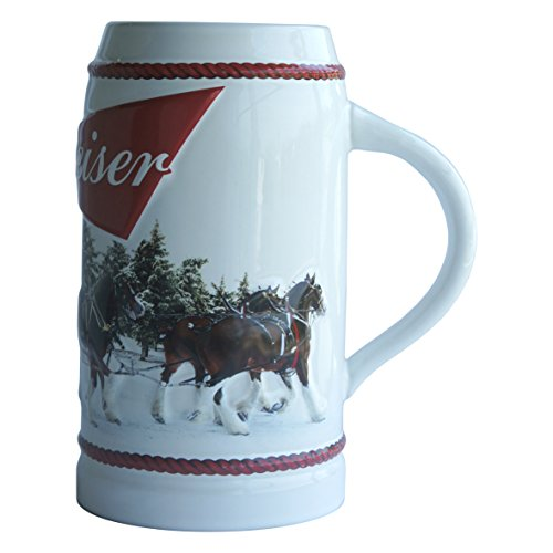 Budweiser  Holiday Stein, 31-ounce