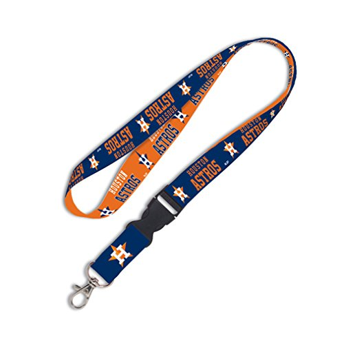MLB Houston Astros Lanyard with Detachable Buckle, 1-Inch