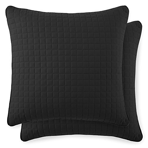 Southshore Fine Linens - VILANO Springs - Pair of Quilted Pillow Sham Covers (No Inserts), 22