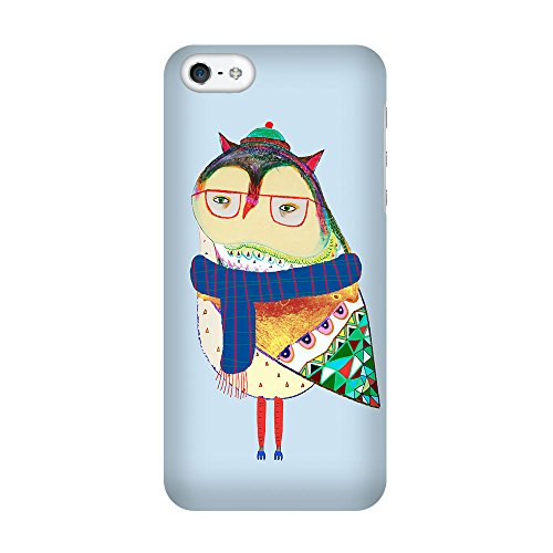 iPhone 5C Coque photo - Echarpe hibou