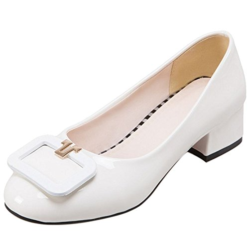 Court Fashion Shoes TAOFFEN Slip 3 White On Women H5X1qI
