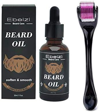 Ebeizi Derma - Rodillo para el crecimiento de la barba con suero ...
