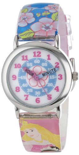 Disney Kids' PRS389 Princesses Time Teacher Analogue Watch