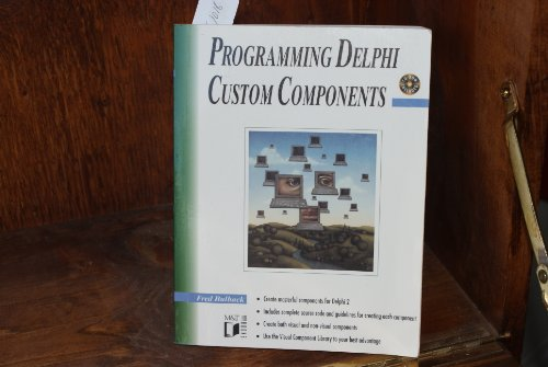 Programming Delphi Custom Components by Brand: M n T Books