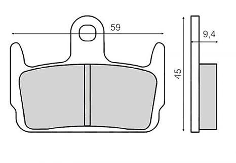 vorne x8r-x AF49/98- Lucas Bremsbel/äge TRW MCB674EC f/ür Honda SZX 50/x8r-s
