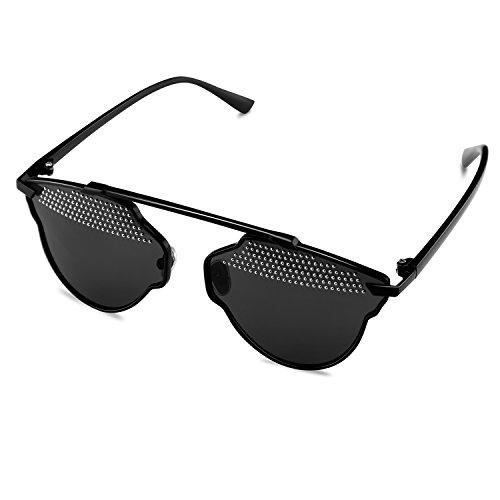 Goliath Ronin Square Fashion Wayfarer Sunglasses Non-polarized Mirrored Lens Metal - Wholesale Sunglasses Designer Inspired