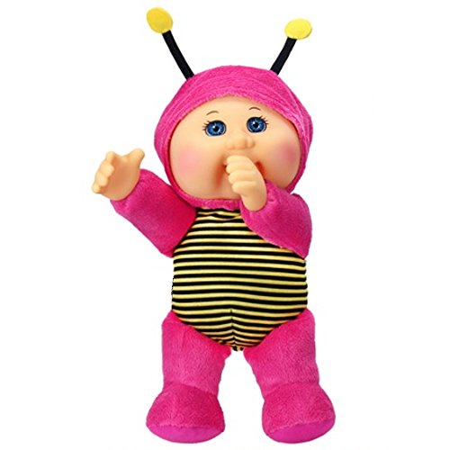 Cabbage Patch Cuties Macie Bumble Bee 9 Inch Soft Body Baby Doll - Garden Party Collection