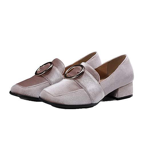 Pelle di Ballet Mucca Beige Donna Basso Tirare Puro AllhqFashion Tacco Flats FBUIDD006585 qZCEw8