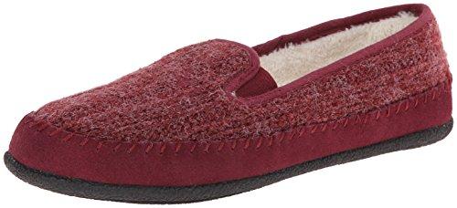Daniel Green Women's Gildy Moccasin Slipper - Ruby - 6 B(...