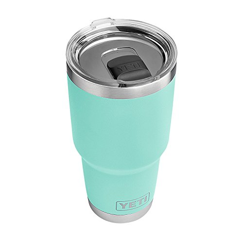 YETI Rambler 30 oz Stainless Steel Vacuum Insulated Tumbler w/ MagSlider Lid, Seafoam by YETI