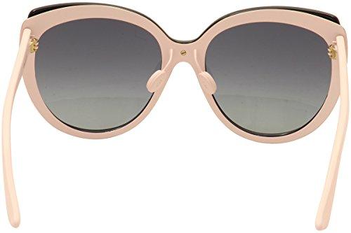 Dior Lunettes de soleil Diorific 1 N Pour Femme Black   Gold   White ... 3ddbf01039d9