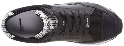Jil Sander Signore Blue Sportivo Sneaker (navy)