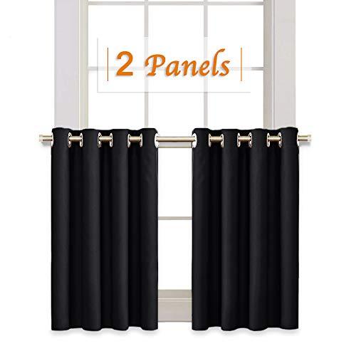 RYB HOME Half Window Kitchen Curtains Valances, Grommet Top