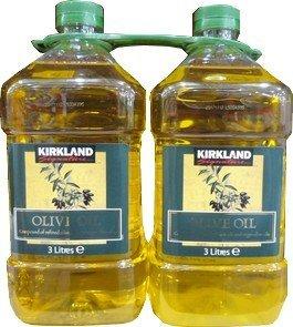 Kirkland Signature 5,4 kg de aceite de oliva puro (2.7KgX2)