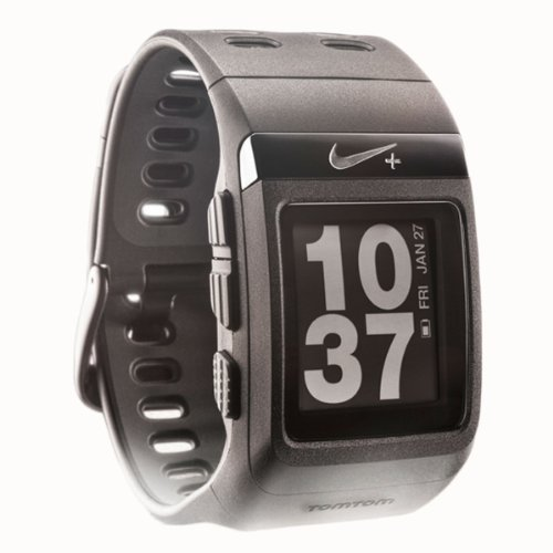 Nike+ SportWatch GPS Powered by TomTom (Black) by NIKE