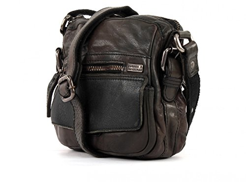 SPIKES & SPARROW Dakota M Crossover Bag Grey