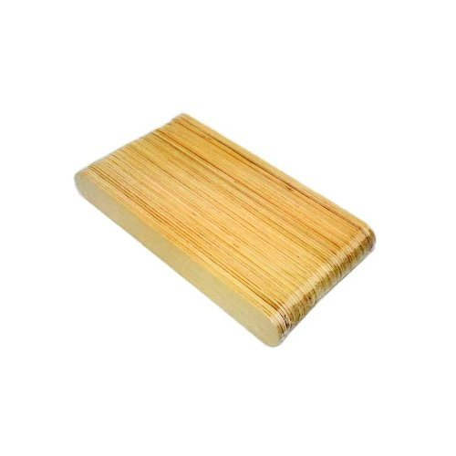 Huini Beauty Disposable Body Wooden Waxing Spatulas 150 Count (50x3) by HUINI