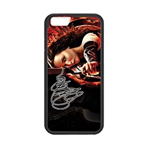 At-Baby Hungry Game Beautiful Actress Pattern Phone Case Custom Case For iPhone 6 (Laser Technology)