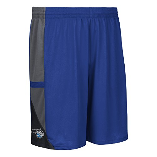 fan products of NBA Orlando Magic Men's Tip-Off Mesh Shorts, Medium, Blue
